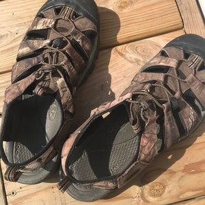 Keen Rialto - camouflage- great condition